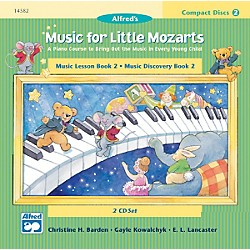 Alfred Music for Little Mozarts CD 2-Disk Sets for Lesson and Discovery Books Level 2 (00-14582)