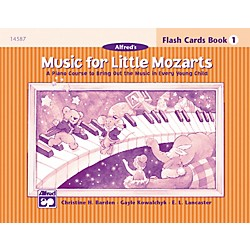 Alfred Music for Little Mozarts Flash Cards Level 1 (00-14587)