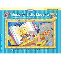 Alfred Music for Little Mozarts Music Workbook 3 Book 3 (00-17181)