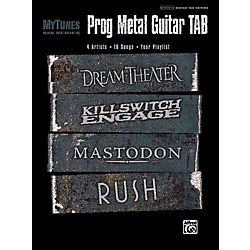 Alfred My Tunes: Prog Metal Guitar Tab Book (00-32049)
