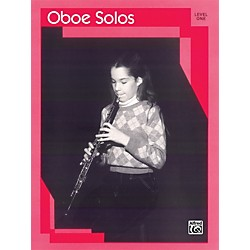 Alfred Oboe Solos Level I Solo Book (00-EL03110)
