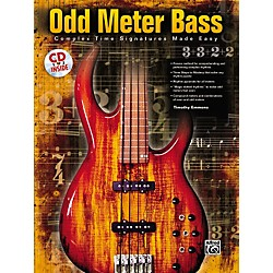 Alfred Odd Meter Bass: Complex Time Signatures Made Easy - By Tim Emmons (Book/CD) (00-25578)