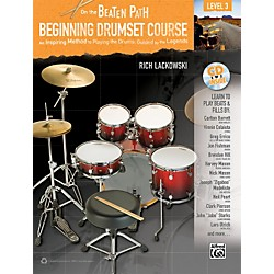 Alfred On the Beaten Path: Beginning Drumset Course Level 3 Book/CD (00-35445)