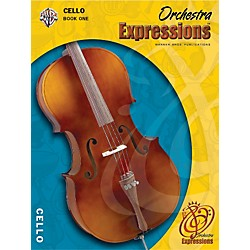 Alfred Orchestra Expressions Book One Student Edition Cello Book & CD 1 (00-EMCO1004CD)