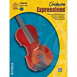 Alfred Orchestra Expressions Book One Student Edition Violin Book & CD 1 (00-EMCO1002CD)