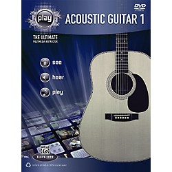 Alfred PLAY Series  Acoustic Guitar 1 Book & DVD (00-34191)