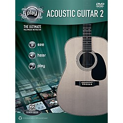 Alfred PLAY Series  Acoustic Guitar 2 Book & DVD (00-34195)