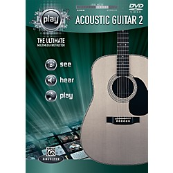Alfred PLAY Series  Acoustic Guitar 2 DVD (00-34193)