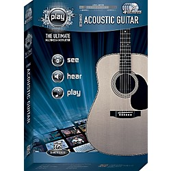 Alfred PLAY Series  Beginning Acoustic Guitar CD-ROM (00-34115)