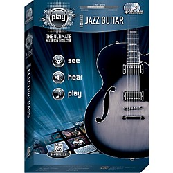Alfred PLAY Series  Beginning Jazz Guitar CD-ROM (00-34118)