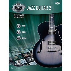 Alfred PLAY Series  Jazz Guitar 2 Book & DVD (00-34203)