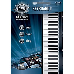 Alfred PLAY Series  Keyboard Basics DVD (00-34209)