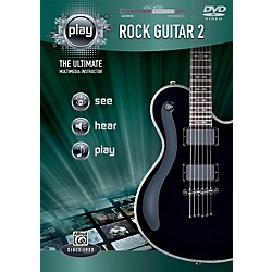 Alfred PLAY Series  Rock Guitar 2 DVD (00-34177)