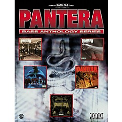 Alfred Pantera Bass Guitar Tab Book (700739)