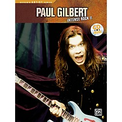 Alfred Paul Gilbert - Intense Rock II Book with CD (00-REHBK003CD)