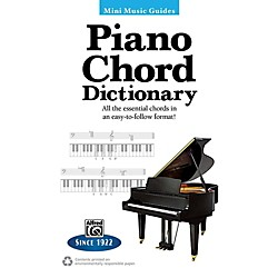 Alfred Piano Chord Dictionary Mini Music Guides Book (00-30877)