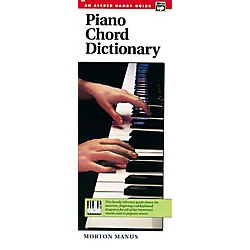 Alfred Piano Chord Dictionary (00-285)