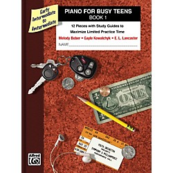 Alfred Piano for Busy Teens Book 1 (00-33239)