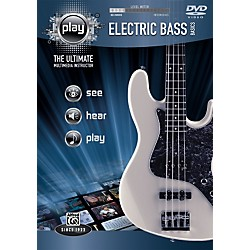Alfred Play Series Electric Bass Basics (DVD) (00-34205)