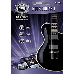 Alfred Play Series Rock Guitar 1 (DVD) (00-34173)