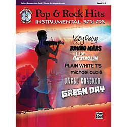 Alfred Pop & Rock Hits Instrumental Solos Cello Book & CD (00-37445)