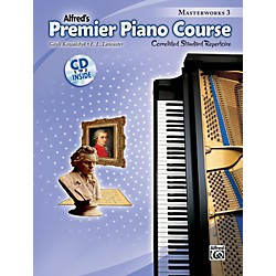 Alfred Premier Piano Course: Masterworks Book 3 & CD (00-40513)