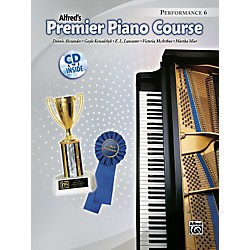 Alfred Premier Piano Course Performance Book 6/CD (00-34669)
