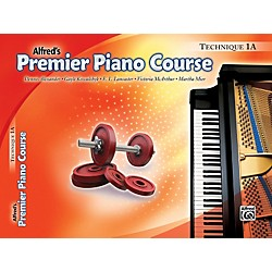 Alfred Premier Piano Course Technique Book 1A (00-27627)
