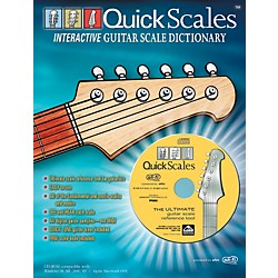Alfred Quick Scales Interactive Guitar Scale Dictionary Book with CD-ROM (00-QC002)