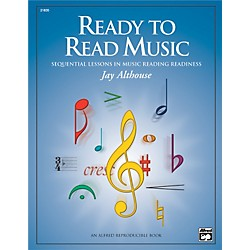 Alfred Ready to Read Music: Sequential Lessons in Music Reading Readiness Book (00-21835)