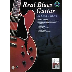 Alfred Real Blues Guitar Method Book with CD (00-0232B)