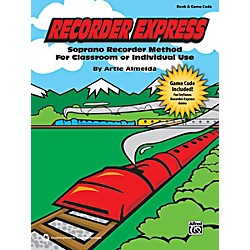 Alfred Recorder Express Book & Game Code (00-39579)