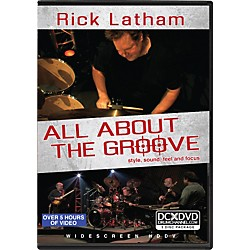 Alfred Rick Latham - All About the Groove: Style, Sound, Feel, and Focus (3-DVD Set) (93-DV10003501)