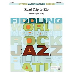 Alfred Road Trip to Rio String Orchestra Grade 3 Set (00-42074)