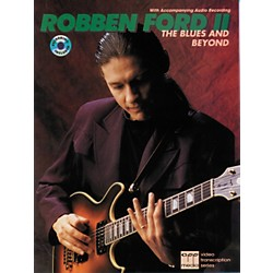 Alfred Robben Ford Blues and Beyond Book/CD (00-REHBK001CD)