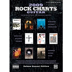 Alfred Rock Charts 2009 Deluxe Annual Edition Guitar Tab Book (00-31997)