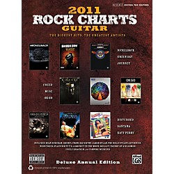 Alfred Rock Charts Guitar 2011 Deluxe Annual Edition Book (322389)