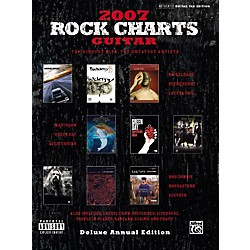 Alfred Rock Charts Guitar Tab Songbook 2007: Deluxe Annual Edition (00-27622)