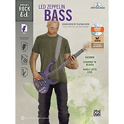Alfred Rock Ed.: Led Zeppelin Bass Book & DVD-ROM (00-41012)
