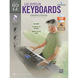 Alfred Rock Ed.: Led Zeppelin Keyboard Book & DVD-ROM (00-41021)