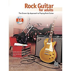 Alfred Rock Guitar for Adults Book & CD (00-40175)