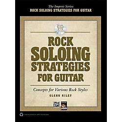 Alfred Rock Soloing Strategies for Guitar - Book & CD (00-37769)