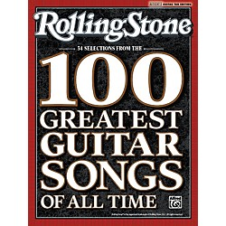 Alfred Rolling Stone: 34 Selections from the 100 Greatest Guitar Songs of All Time - Tab Book (00-32815)