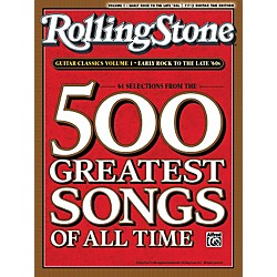 Alfred Rolling Stone 500 Greatest Songs Of All Time Guitar Classics Volume 1 (00-30125)