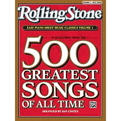 Alfred Rolling Stone Easy Piano Sheet Music Classics Volume 1 (Book) (00-30195)