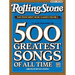 Alfred Rolling Stone Easy Piano Sheet Music Classics Volume 2 (Book) (00-30196)