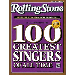 Alfred Rolling Stone Sheet Music Anthology of Rock & Soul Classics (Book) (00-34008)