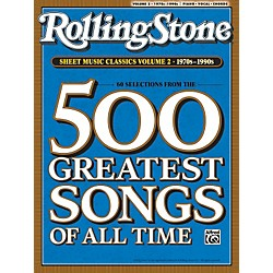Alfred Rolling Stone Sheet Music Classics Volume 2: 1970s-1990s Piano, Vocal of Guitar Book (00-30201)