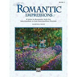 Alfred Romantic Impressions Book 3 (00-16872)