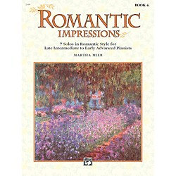 Alfred Romantic Impressions Book 4 Piano (00-21406)